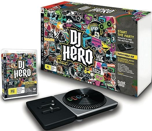 Dj Hero Bundle Pack Zestaw z Adapterem (PS3)